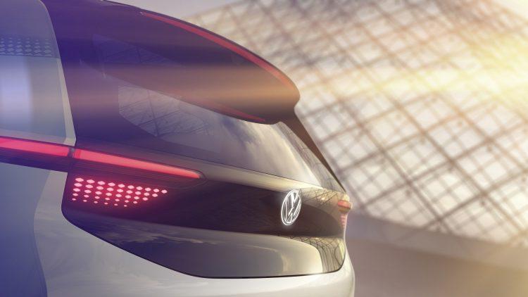 2016 Volkswagen EV concept rear