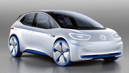 Volkswagen I.D. concept revealed, previews EV future