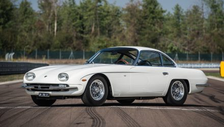 Lamborghini 350 GT fully restored via Polo Storico program