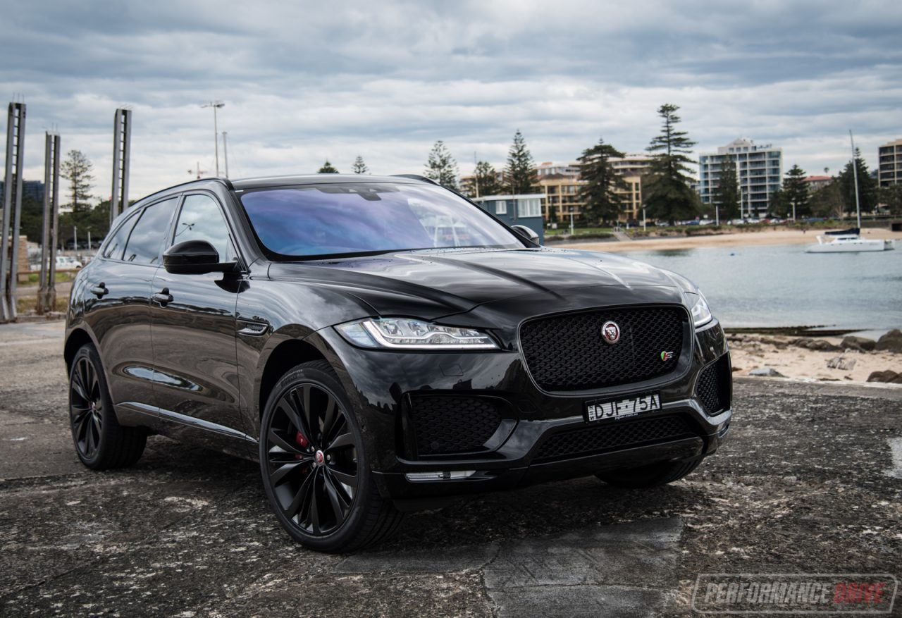 2016 Jaguar F Pace S 35t Review Video Performancedrive