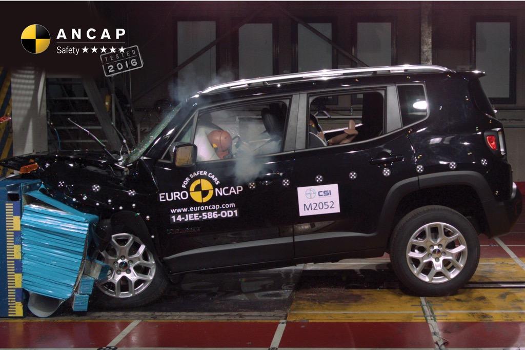 2016 vw tiguan bmw x1 jeep renegade awarded 5 star ancap safety performancedrive. Black Bedroom Furniture Sets. Home Design Ideas