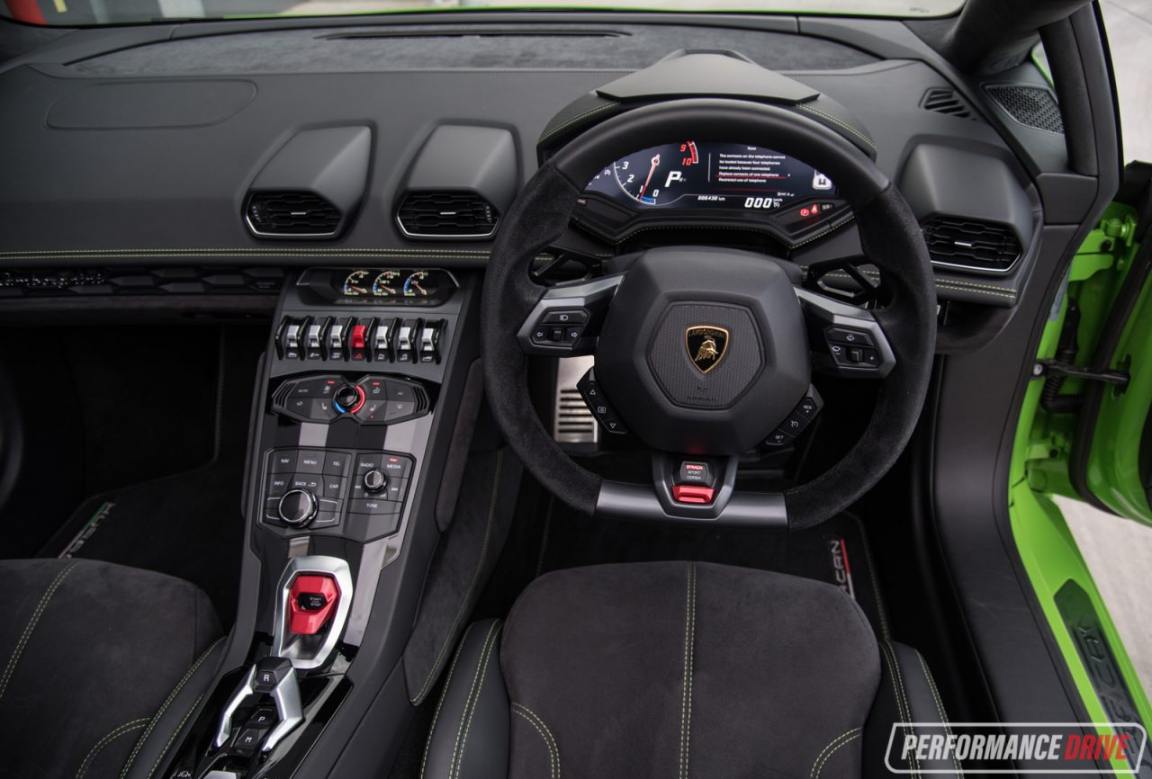 2016 lamborghini huracan spyder review video. Black Bedroom Furniture Sets. Home Design Ideas