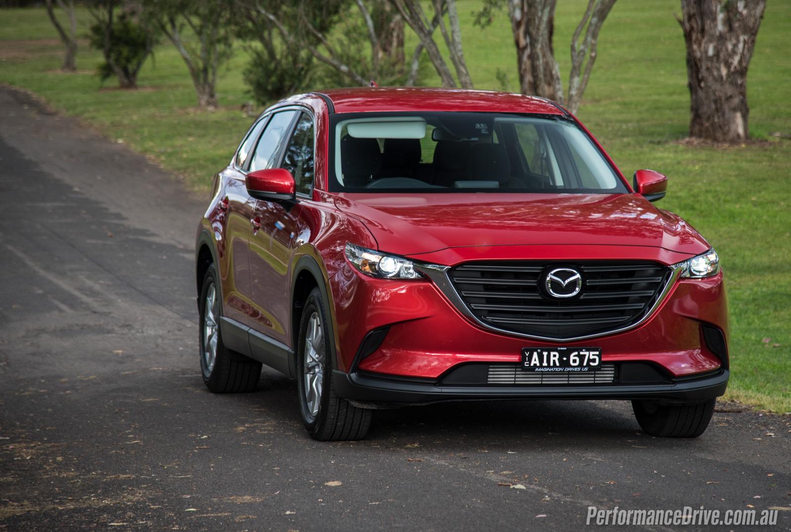 2016 Mazda Cx 9 Sport Awd Review Video Performancedrive