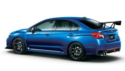 2016 Subaru WRX S4 tS STI announced for Japan