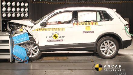 2016 VW Tiguan, BMW X1, Jeep Renegade awarded 5-star ANCAP safety