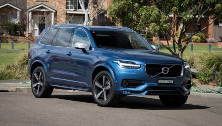 2016 Volvo XC90 T6 R-Design Polestar review (video)