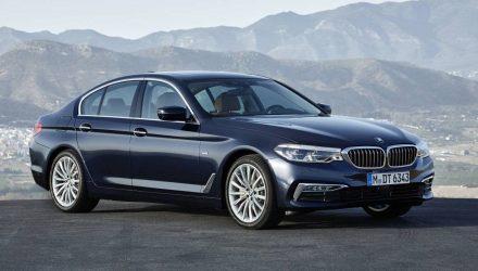 2017 BMW G30 5 Series revealed; 100kg lighter, M550i flagship