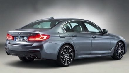 2017 BMW 5 Series revealed in leaked images