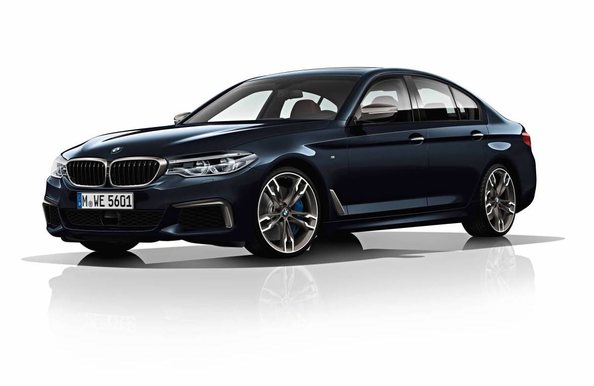 2017 bmw g30 5 series revealed 100kg lighter m550i flagship performancedrive. Black Bedroom Furniture Sets. Home Design Ideas