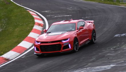 2017 Chevrolet Camaro ZL1 laps Nurburbring in 7:29.60 (video)