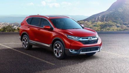 2017 Honda CR-V revealed in US-spec, brings 1.5T