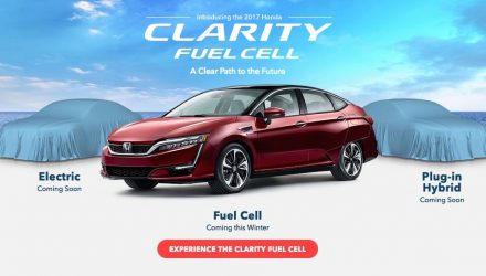 2017 Honda Clarity FCV offers industry-leading range