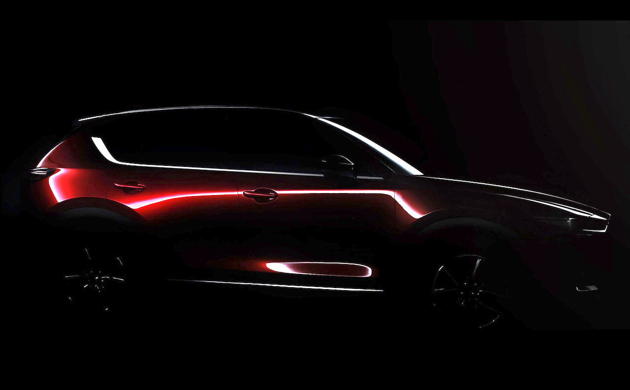 ... CX-5 mid-size SUV at the upcoming Los Angeles Auto Show next month