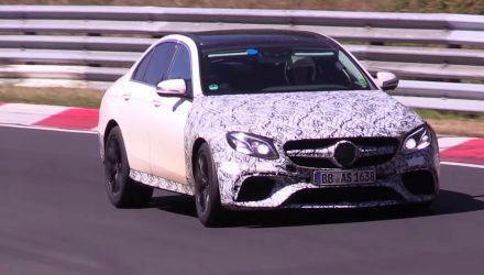 2017 Mercedes-AMG E 63 to be AWD, with 'drift mode' – report