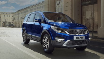 2017 Tata Hexa announced for India, new 6-seat SUV