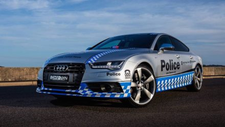 NSW Police gets Audi S7 Sportback to support community