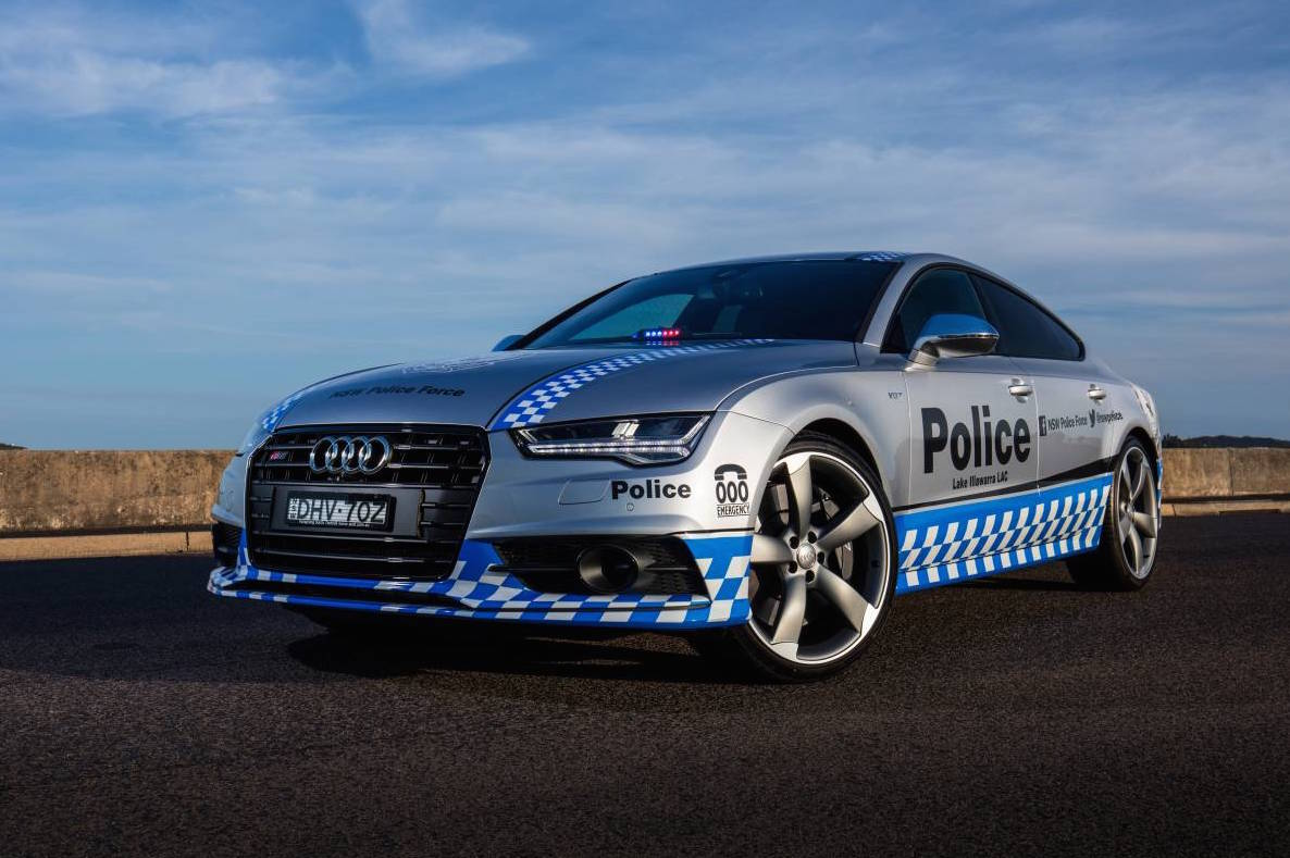 nsw police gets audi s7 sportback to support community performancedrive. Black Bedroom Furniture Sets. Home Design Ideas