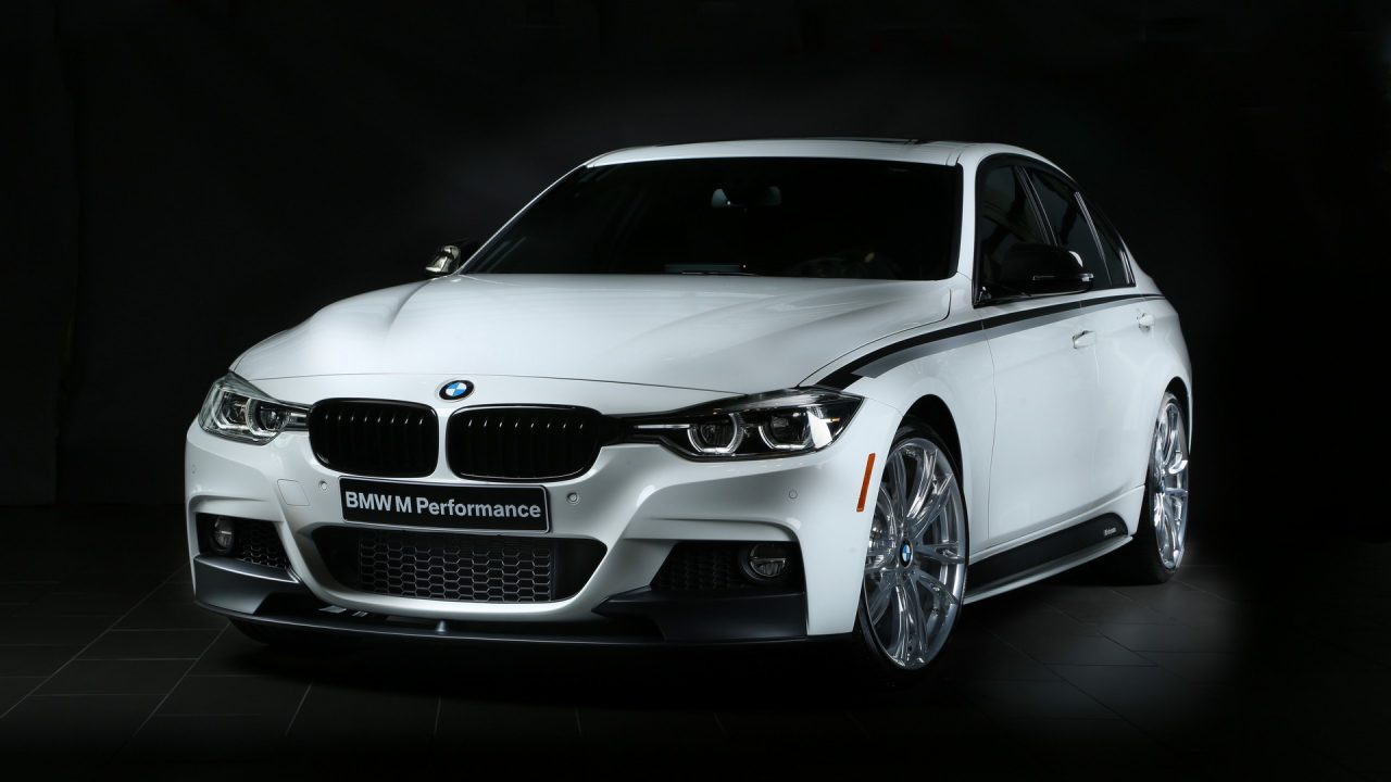 latest bmw m parts to debut at sema new aero kit for m3 m4 performancedrive. Black Bedroom Furniture Sets. Home Design Ideas