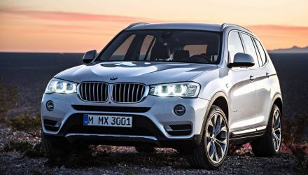 2018 BMW X3 'G01' getting EV variant, EV MINI planned – report