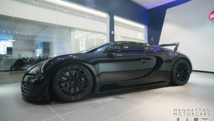 For Sale: 2012 Bugatti Veyron Super Sport, travelled 1700km