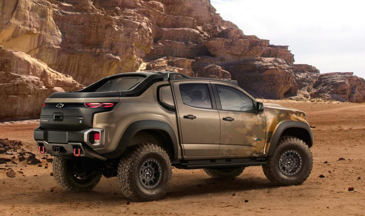 chevrolet creates colorado zh2 fuel cell prototype for us army performancedrive. Black Bedroom Furniture Sets. Home Design Ideas