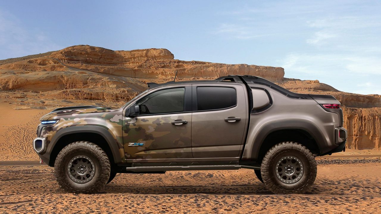 Chevrolet creates Colorado ZH2 fuel-cell prototype, for US ...