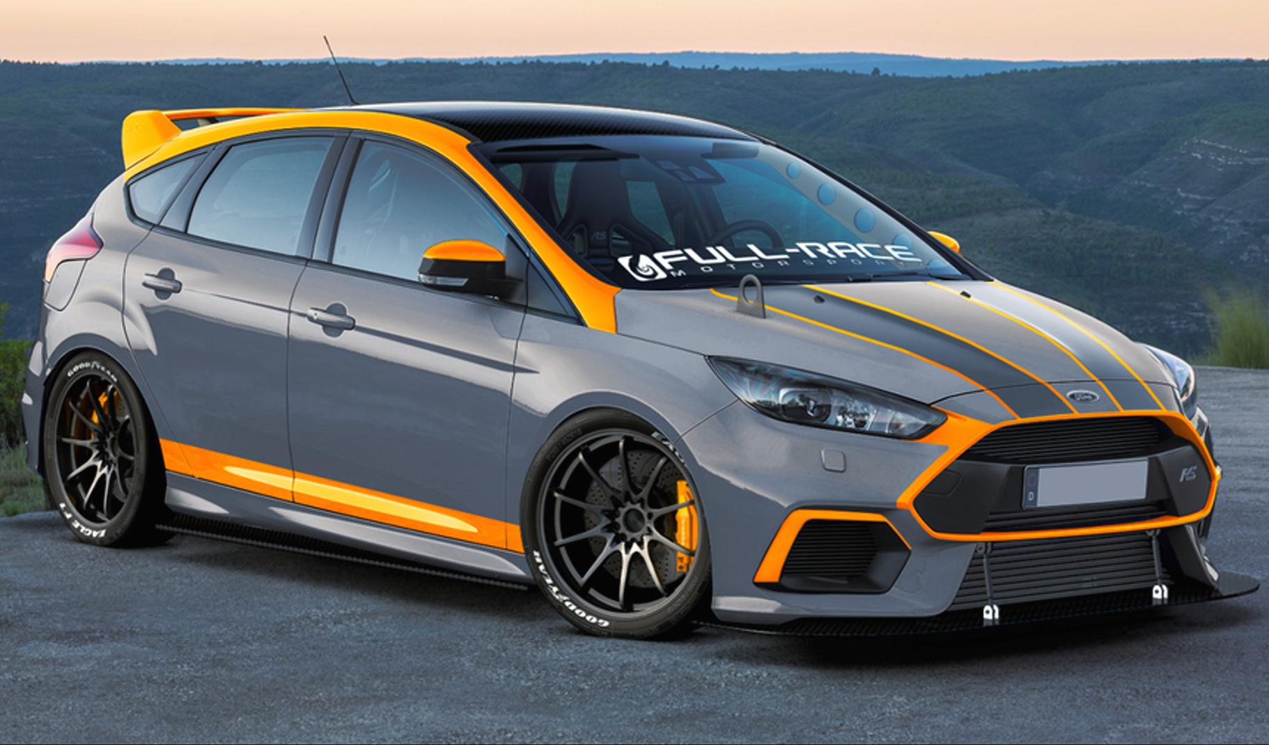 Ford focus rs 2016 sema 1