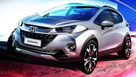 Honda WR-V compact SUV previewed