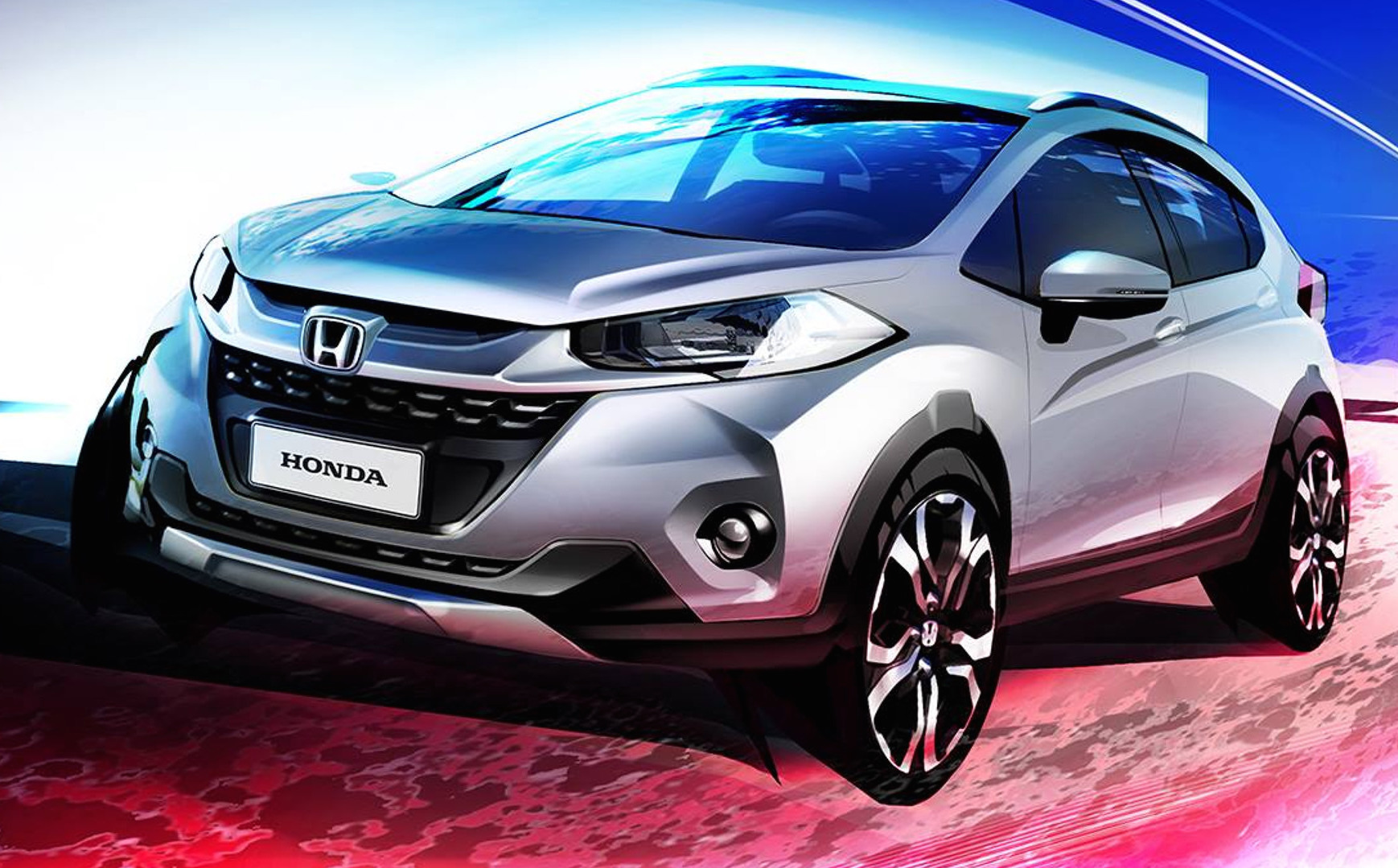 Honda Wr V Compact Suv Previewed Performancedrive