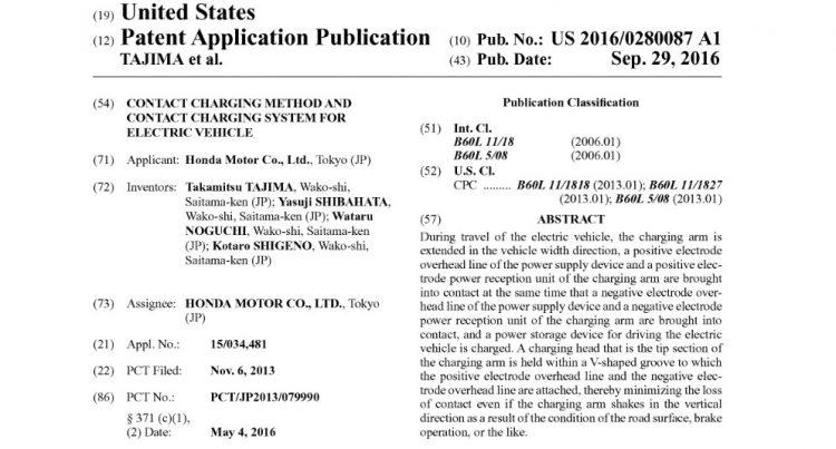 honda-contact-charging-patent