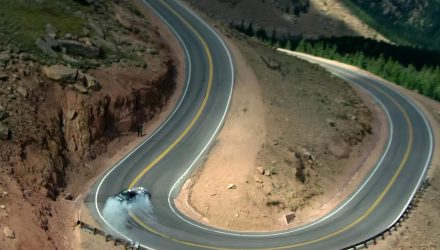 Video: Ken Block previews 'Climbkhana' Pikes Peak mega drift