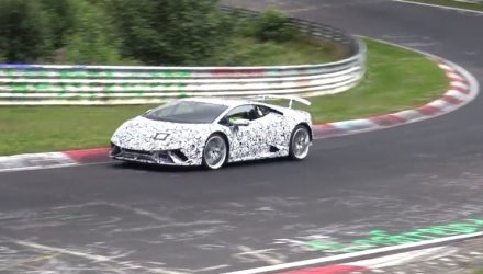 Lamborghini Huracan 'Superleggera' to be RWD?