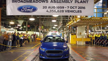 Ford Australia signs off auto manufacturing after 91 years