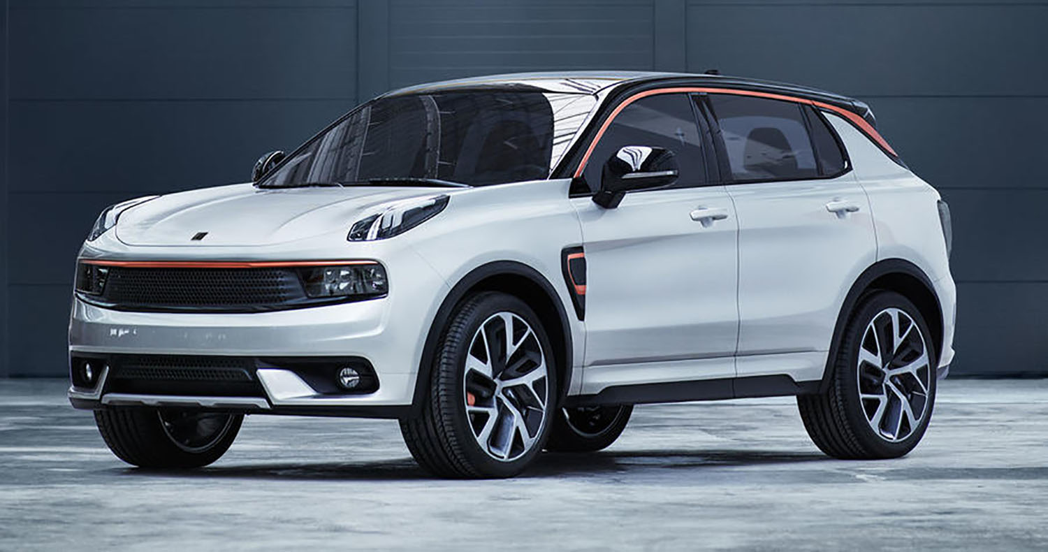 lynk amp co 01 revealed from new geely subbrand