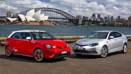 MG returns to Australia, MG6 Plus & MG3 hatch now on sale
