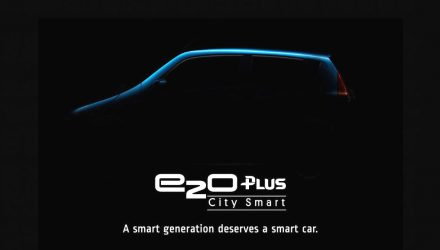 Mahindra previews new five-door EV; the e20Plus