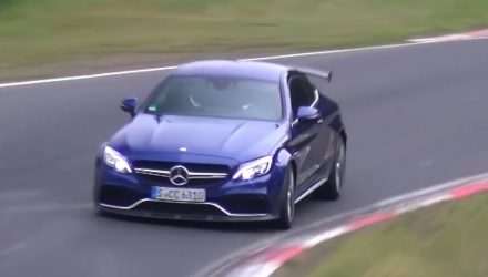 Mercedes-AMG C 63 'R' / Black Series spotted at Nurburgring (video)