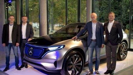 Mercedes-Benz EQ electric SUV