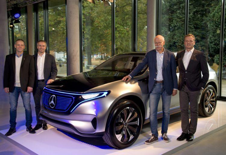 Mercedes-Benz EQ electric SUV