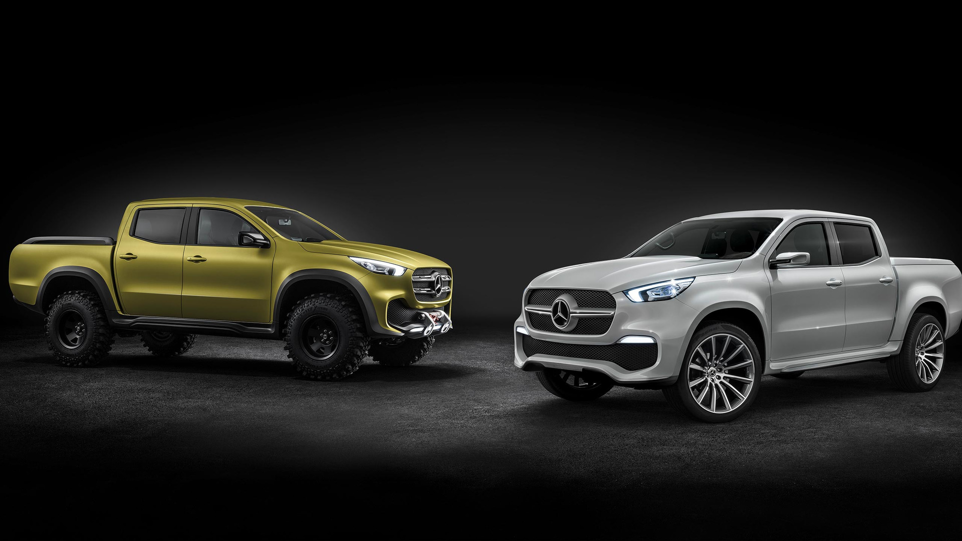 mercedes benz pickup concept revealed will become x class