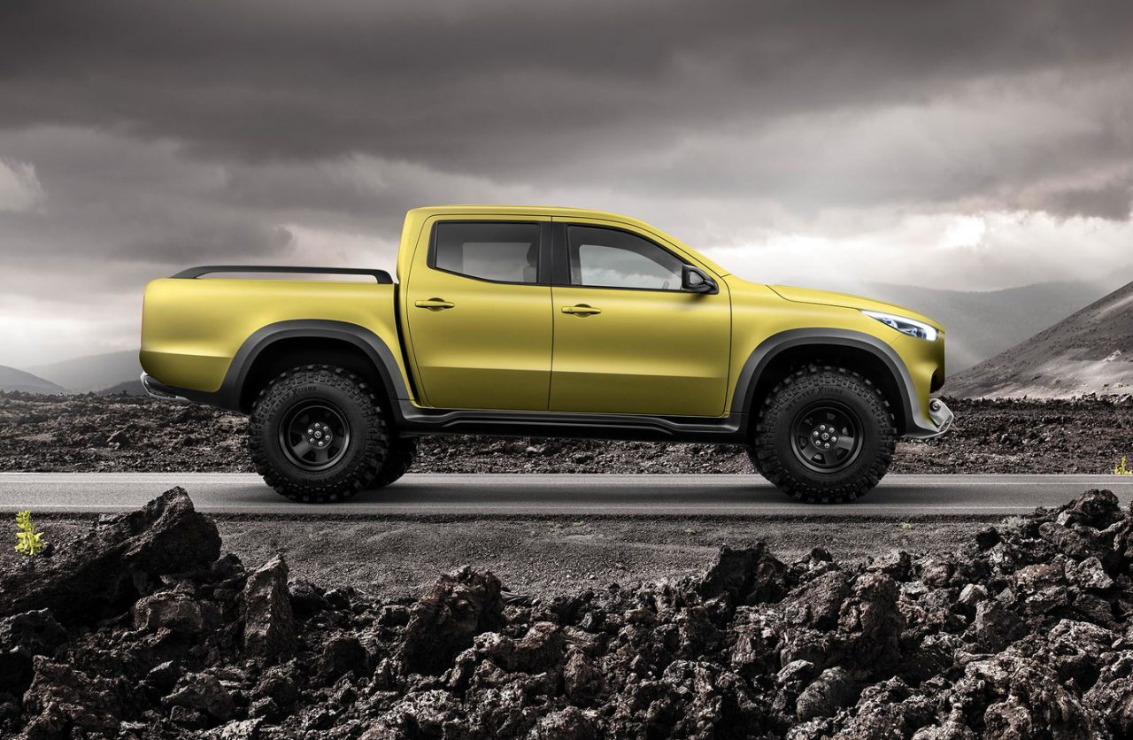 Mercedes-Benz pickup concept revealed, will become X-Class ...