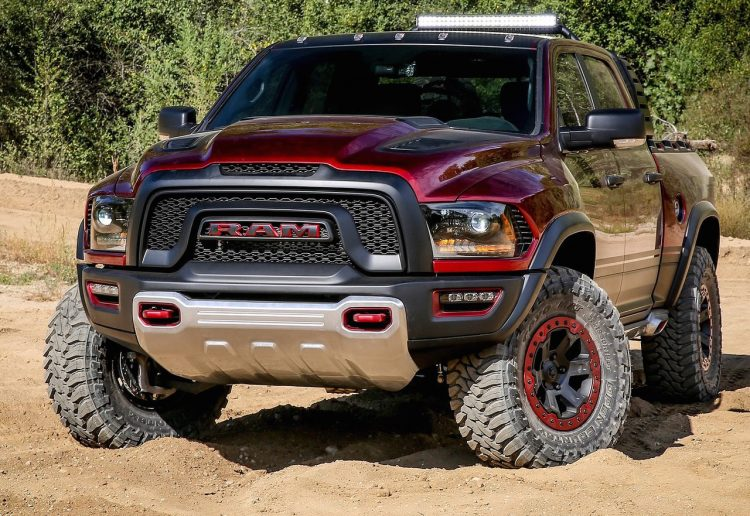 Hellcat Powered Ram Rebel Trx Concept Shows Potential