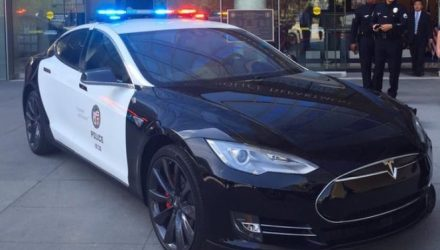 LA police testing Tesla Model S for patrol fleet