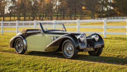 For Sale: Mint 1937 Bugatti Type 57S, expected to fetch over $8m