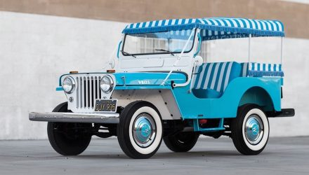 For Sale: Meticulously restored 1960 Willys Jeep Gala