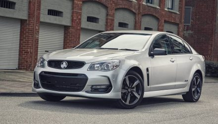 Holden Commodore SV6 production ends for manual transmission