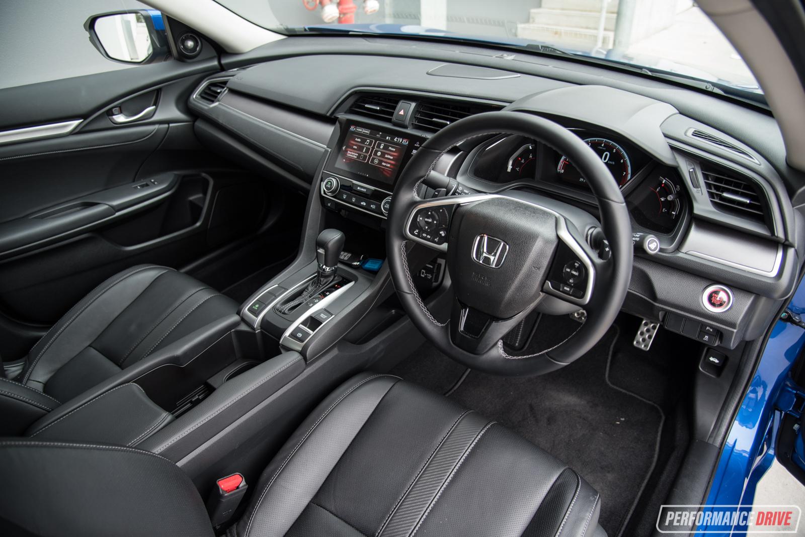 2016 Honda Civic Rs Turbo Review Video Performancedrive