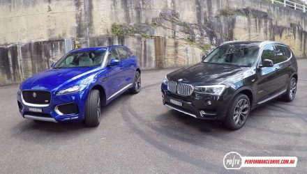 Jaguar F-PACE 30d vs BMW X3 xDrive30d: diesel SUV comparison (POV)