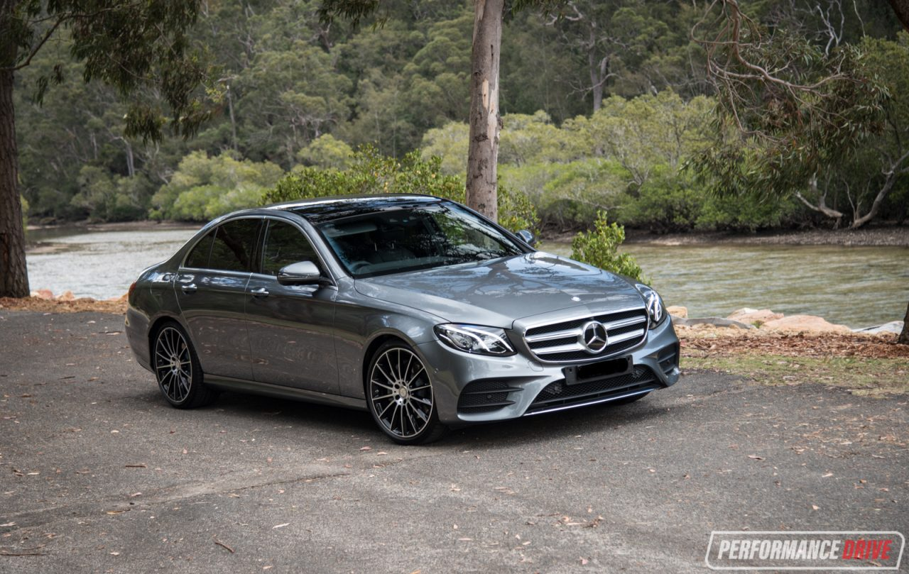 2016 mercedes benz e 200 amg line review performancedrive for Mercedes benz hornsby