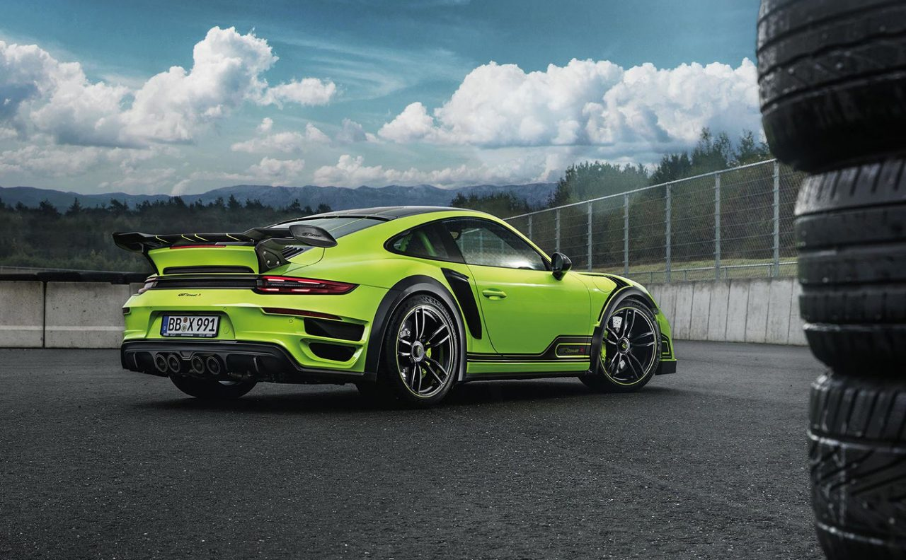 TechArt Reveals Intense New GTstreet R Porsche 911 Turbo